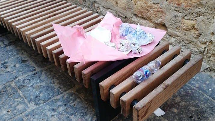 """Il comunicato dell'associazione """"Polis"""" sui rifiuti abbandonati nei luoghi della movida"""