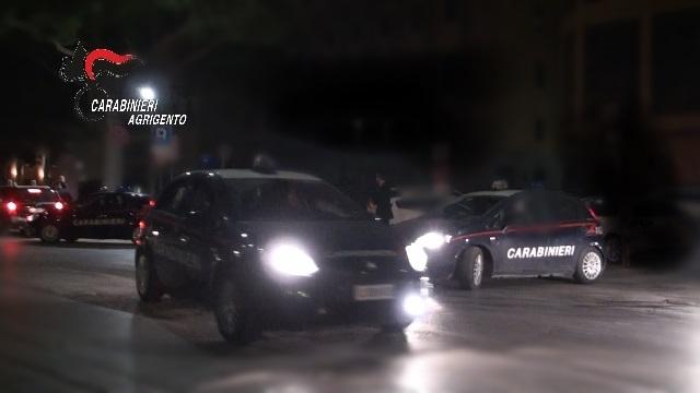 Rissa a San Leone, intervento dei Carabinieri