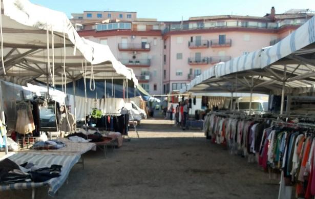 Mercatini settimanali aperti ad Agrigento