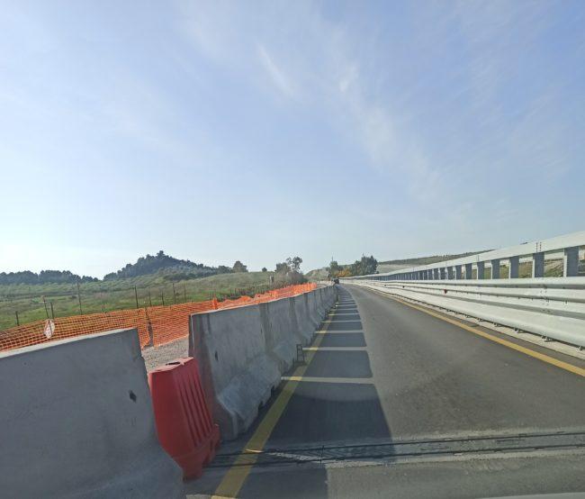 SS 115, lavori ancora in corso lungo il viadotto Mintina