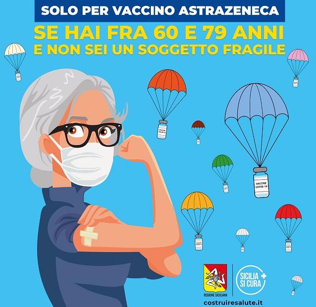 Al via le vaccinazioni straordinarie con AstraZeneca