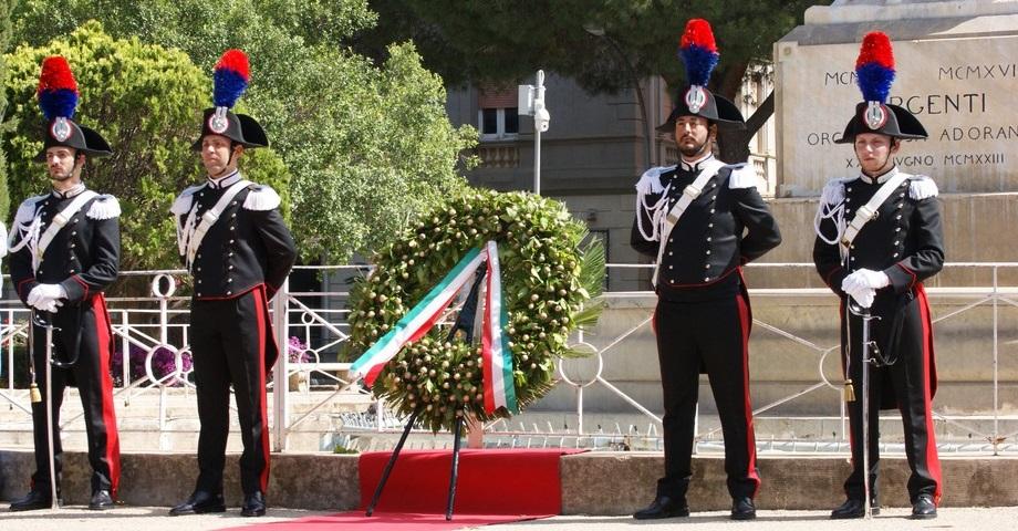 Celebrata anche ad Agrigento la festa del 2 giugno