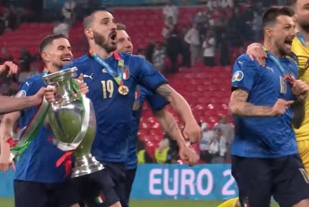 Italia campione d'Europa, festa anche ad Agrigento
